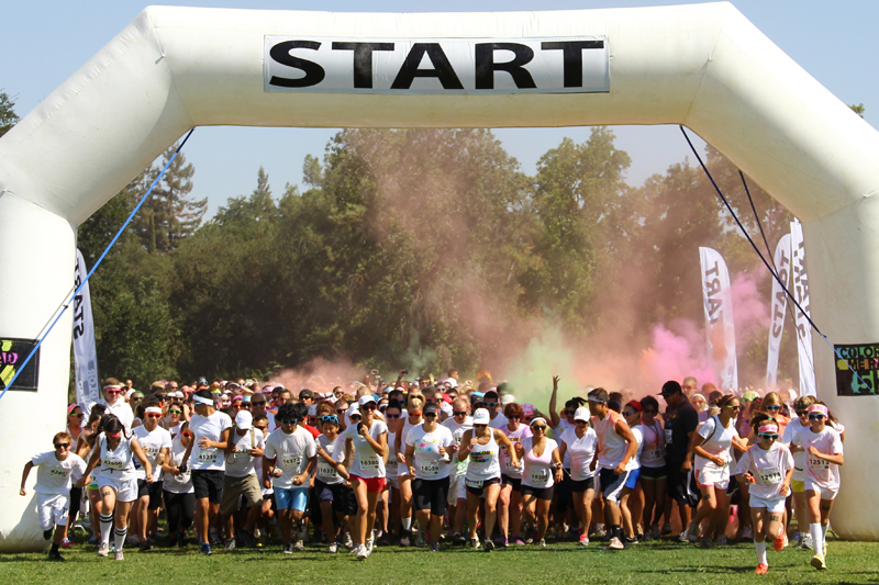 Color me rad gallery the collegian for Color fresno
