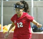 Midfielder Amanda Reyes was named the Defensive Player of the Week in the Western Athletic Conference.