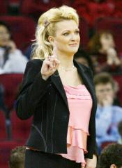 Stacey Johnson-Klein was a familiar presence on the court during her 3-year tenure as Fresno State women