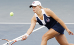 Renata Kucekova (above) and the Fresno State women's tennis team is 2-1 this season with wins over Clemson and Arkansas.