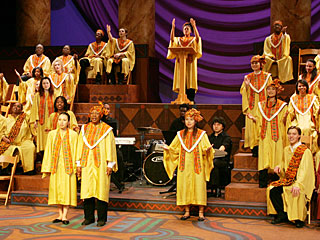The Fresno State Theatre Arts Department's production of 'Gospel at Colonus' features a type of singing in the new 'Gospel Singing and Conducting Made Easy: Break It Down For Us' class, to be held June 29 through July 12.