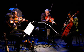 The Kronos Quartet enjoys acclaim for its diverse output, recording classical music, Mexican folk music and film soundtracks, among other genres.