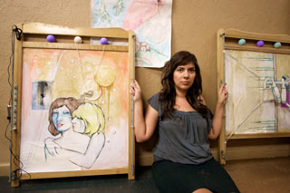 Aurora Armijo, a 2004 graduate of Fresno State, uses inspiration from her mother to expresses history in a unique form.
