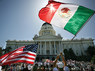 Arizona's newly passed law was a point of interest during the biannual meeting of the President of Mexico and the Institute for Mexicans Abroad.