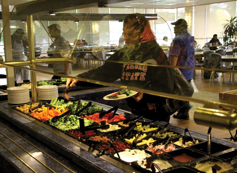 Five dollar fridays boost sales for university dining hall for U of t dining hall