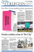 Collegian February 8th, 2012.