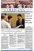 Collegian March 19th, 2012