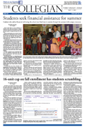 Collegian May 2nd, 2012
