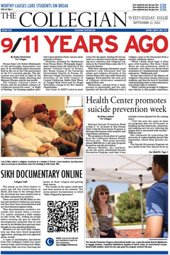 Collegian September 12, 2012.