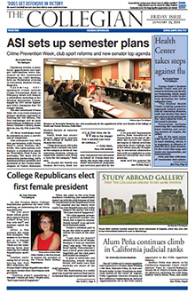 Collegian January 25, 2013