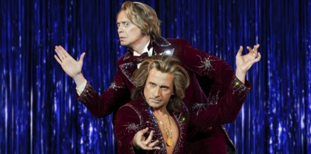 """Steve Carrel and Steve Buscemi star in """"The Incredible Burt Wonderstone."""" Photo courtesy of Warner Bros. Pictures."""