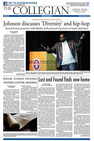 Collegian March 1, 2013
