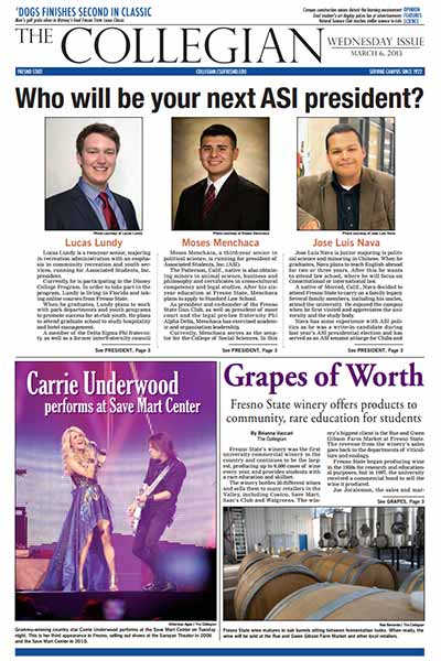 Collegian March 6, 2013