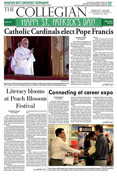 Collegian March 15, 2013