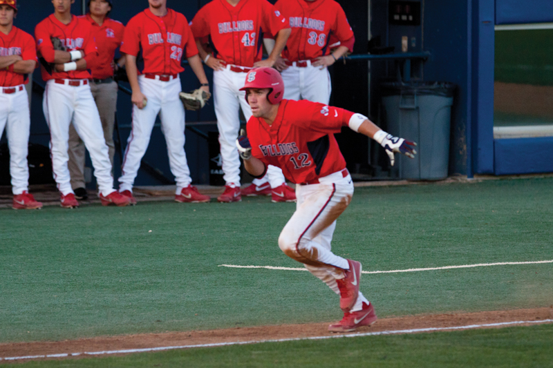 Austin Wynns and the Fresno State baseball team host CSU Bakersfield tonight at Beiden Field in nonconference play. Khlarissa Agee / The Collegian