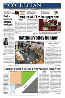 Collegian September 6, 2013