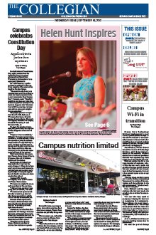 Collegian September 18, 2013