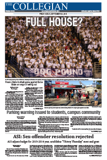 Collegian September 20, 2013