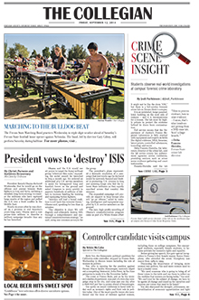 Collegian September 12, 2014