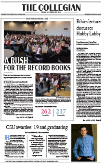 Collegian September 26, 2014
