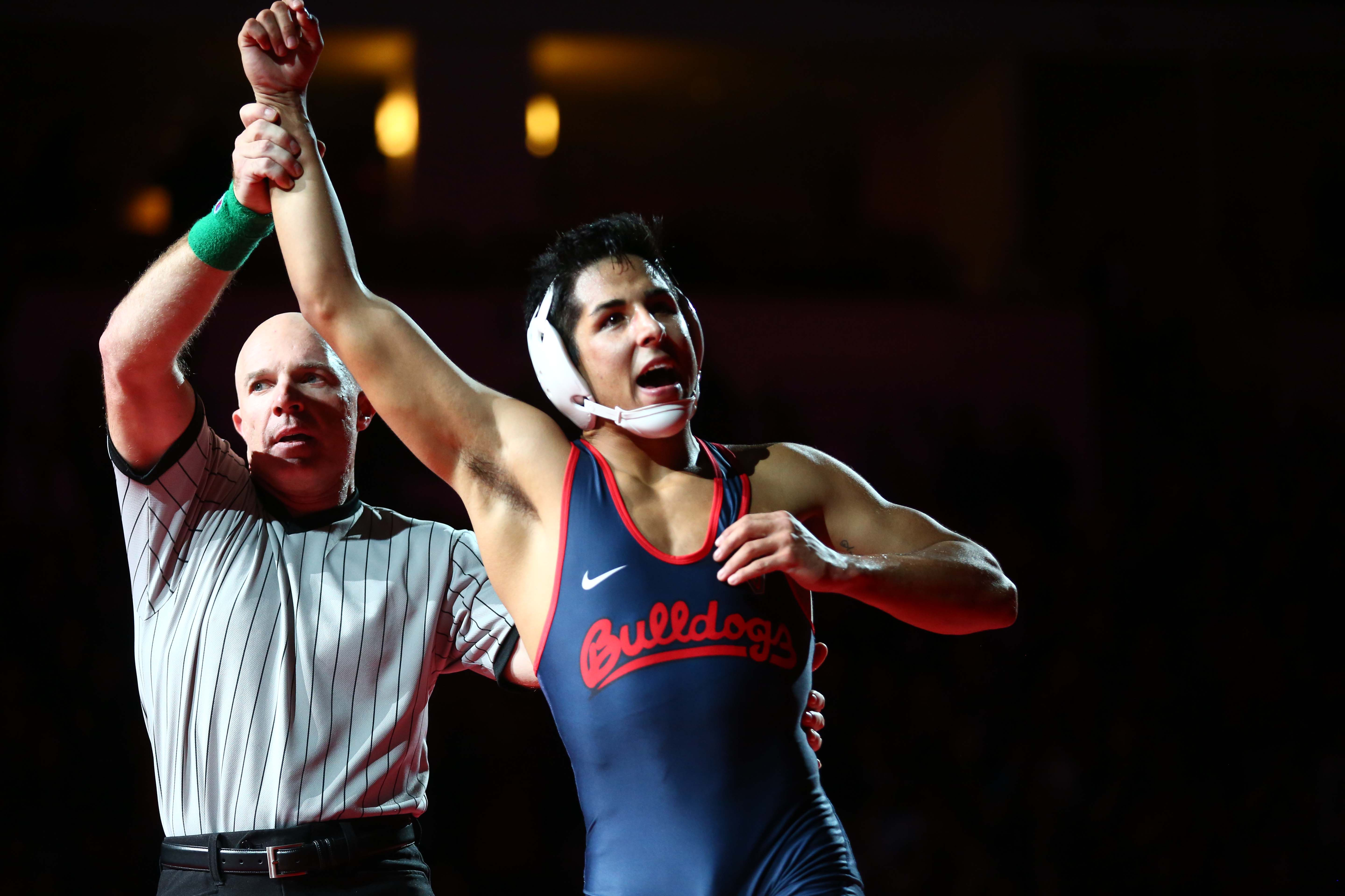 PHOTOS: Wrestling returns to Fresno State after 11 years