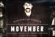 Movember: Growing Moustaches for Men's Health [video] article thumbnail mt-3