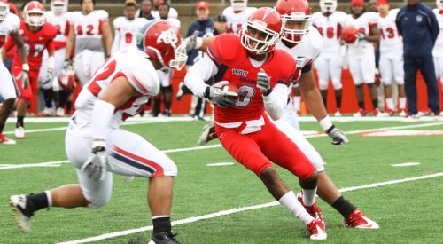Fall camp: Bulldogs prep for first live scrimmage article thumbnail mt-3