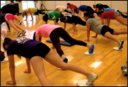 Butts and Guts class at the Rec Center [video] article thumbnail mt-3