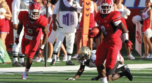 Rouse runs away with rushing record article thumbnail mt-3