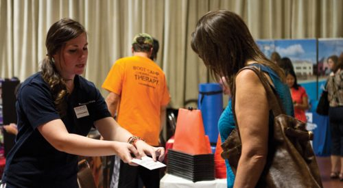 Fresno State promotes healthy faculty with wellness fair article thumbnail mt-3