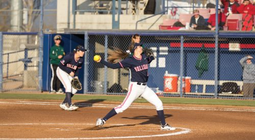 Softball: Dogs' host Cal State Northridge article thumbnail mt-3