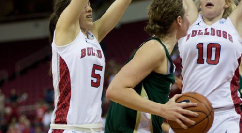 Women's Basketball: 'Confident' 'Dogs fend off Rams at home article thumbnail mt-3