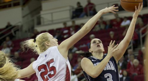 Women's Basketball: 'Dogs' stale shooting helps Wolf Pack snap conference skid article thumbnail mt-3
