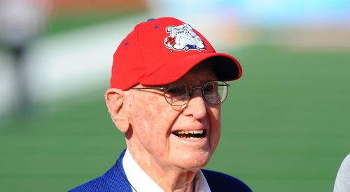Football: Fresno State legend Jack Mulkey dies at age 95 article thumbnail mt-3