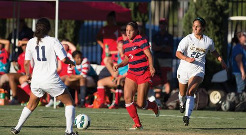 Women's Soccer: 'Project 9000' aims for record, outreach article thumbnail mt-3