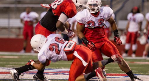Fresno State Notebook: Strong fall camp showings propel Wilson, Mickelsen as frontrunners for inside linebacker spots article thumbnail mt-3