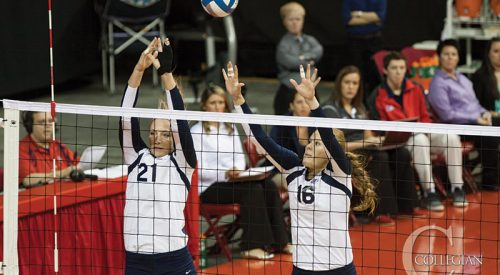Volleyball: Bulldogs swept by Aggies article thumbnail mt-3