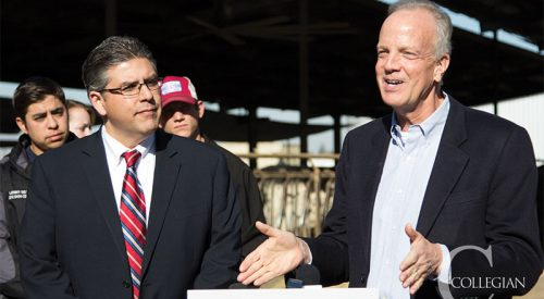 Senator visits dairy, talks farm bill's impact article thumbnail mt-3
