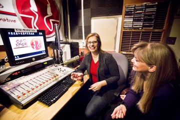 'First Lady Focus' hits campus airwaves article thumbnail mt-3