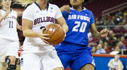 Women's Basketball: 'Dogs beat Air Force article thumbnail mt-3