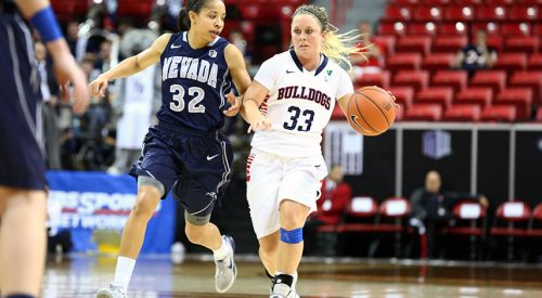 Women's Basketball: 'Dogs advance to conference finals article thumbnail mt-3