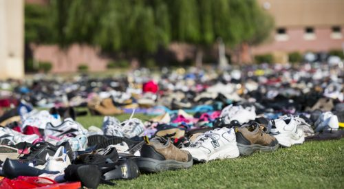 Sole Train collects 16,000 shoes for charity article thumbnail mt-3