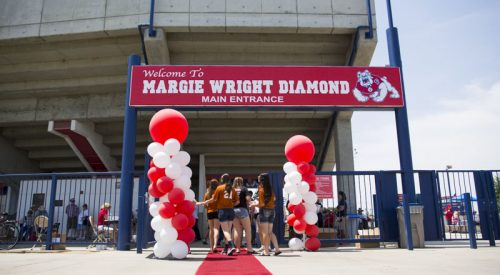 The 'Wright' honor: 'Dogs dedicate softball diamond to applaud winningest coach article thumbnail mt-3