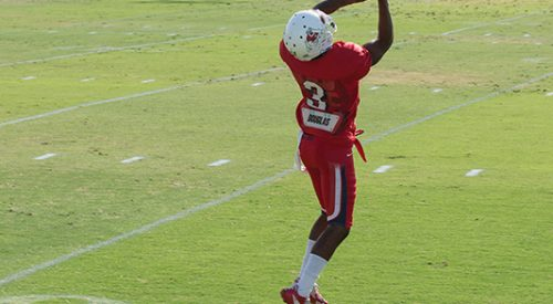Football: Harper leads new pack of receivers article thumbnail mt-3