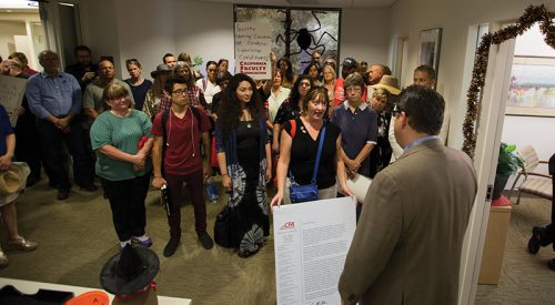 Faculty union asks Castro to