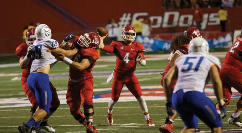 Football: 'Dogs look for first win in Boise since 1984 article thumbnail mt-3