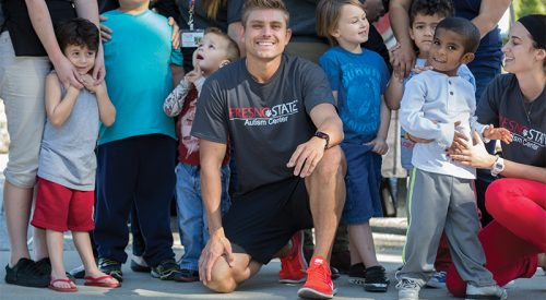 Alumnus to run 190 miles in 10 days to benefit Fresno State autism center article thumbnail mt-3
