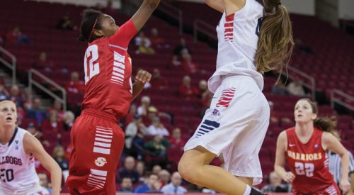 Women's Basketball: A roadblock for opponents article thumbnail mt-3