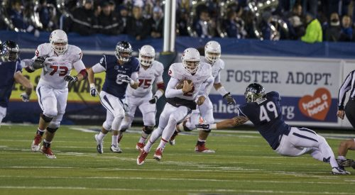 Football: 'Dogs keep first-place spot with win over Nevada article thumbnail mt-3