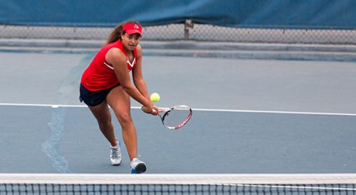 Women's tennis: 'Dogs fall victim to late Shockers rally article thumbnail mt-3